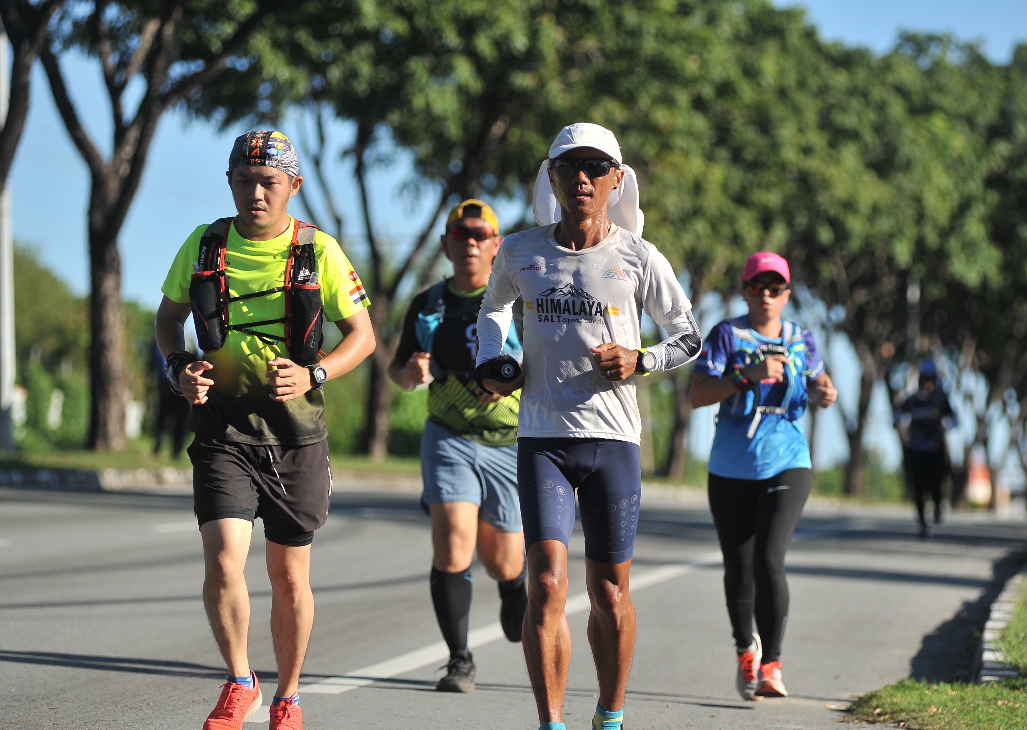 Borneo 1600 Charity Solo Run by Steven Ong